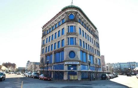 The Ferdinand Building in Dudley Square is to be rebuilt.
